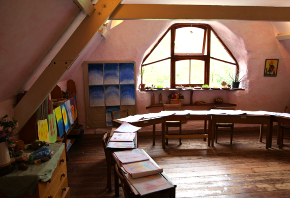 Classroom Upstairs Main School