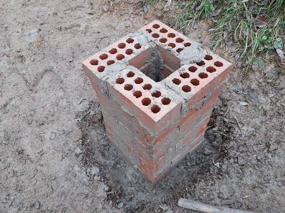 Bench Pillars