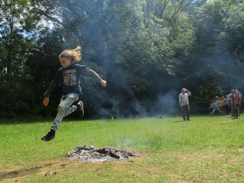 St John's Day Festival - Jumping Fire